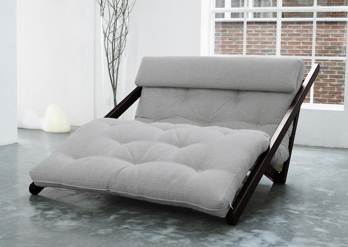 Divano letto futon figo karup in legno wenge lettogiapponese com - Letto singolo che diventa matrimoniale ...