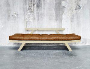 Divano Letto Futon BEBOP Vintage Collection Karup in legno naturale ...